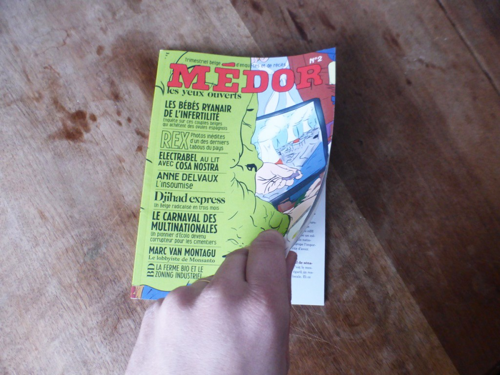 Cover – Médor Magazine