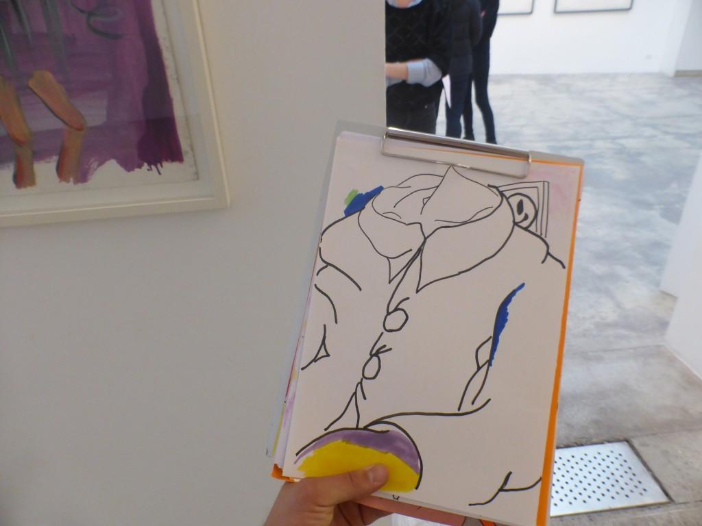 Dessins in situ – Galerie GP et N Vallois