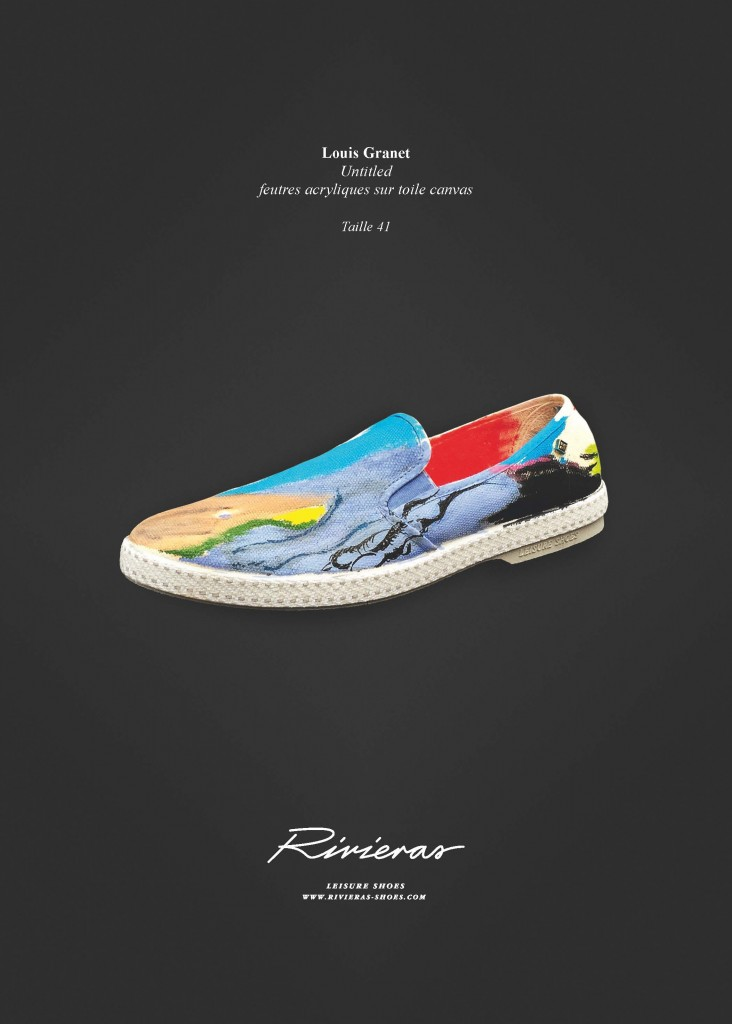 Collaboration with Rivieras – Shoes
