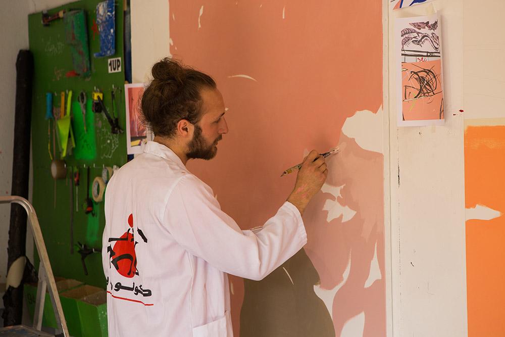 Jardin rouge – Fondation Montresso