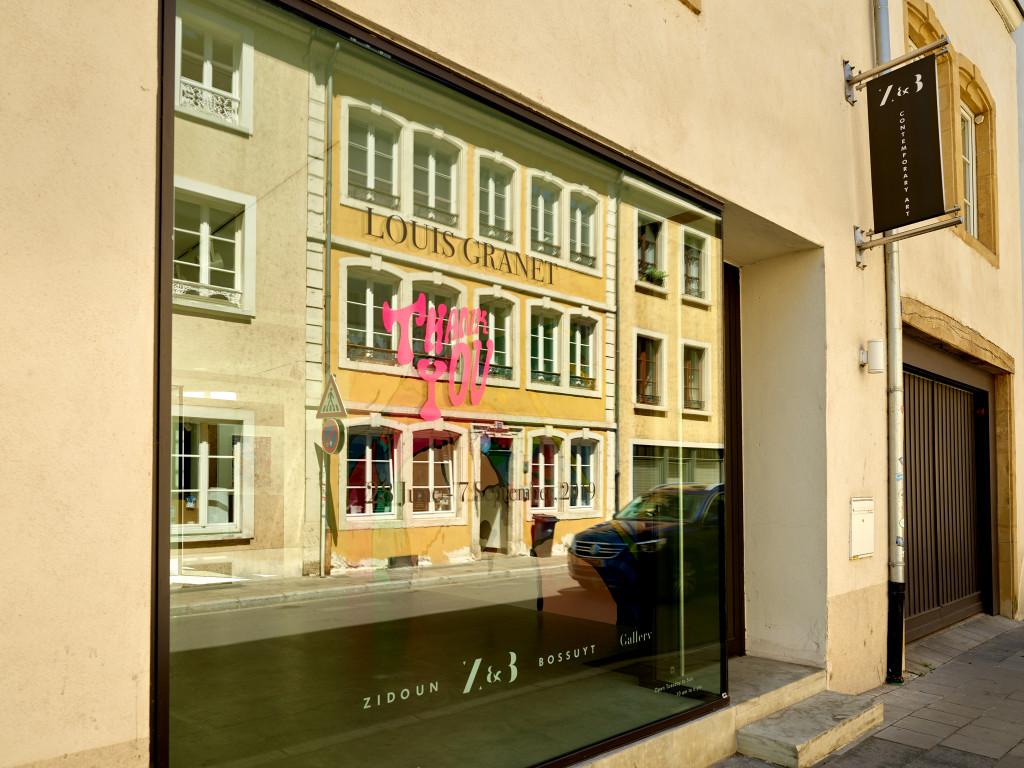THANK YOU – galerie Zidoun-Bossuyt, Luxembourg