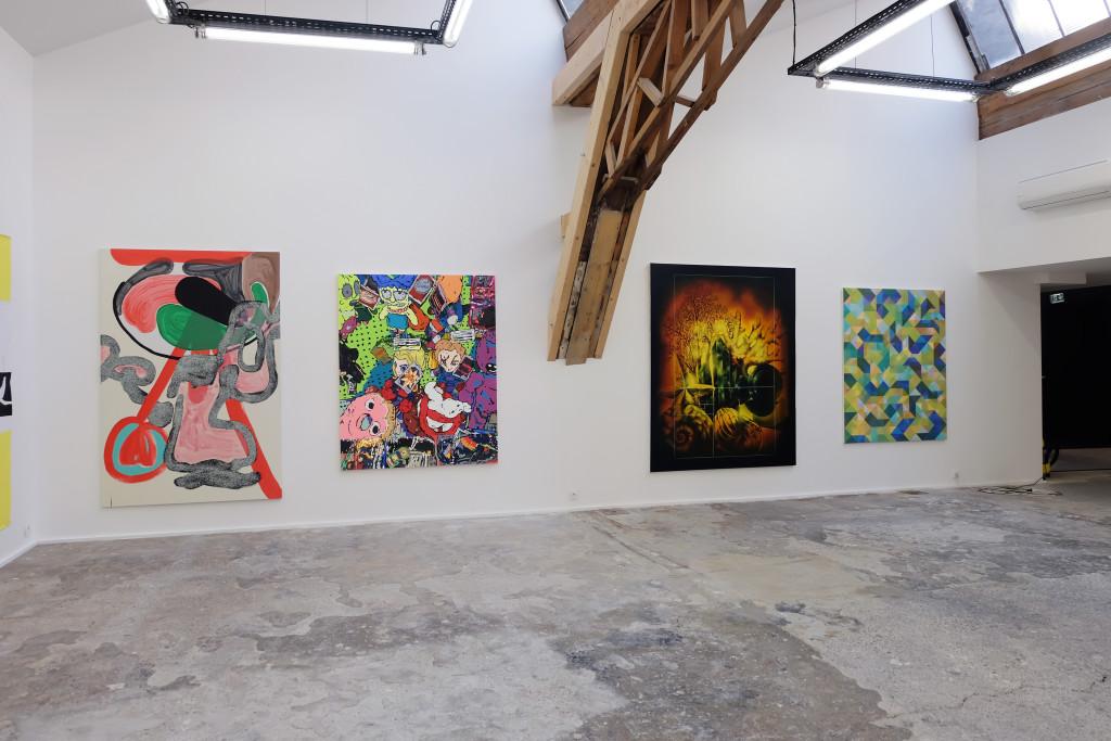 Paris Peinture Plus – Slika (projet résonance-biennale de Lyon), Lyon