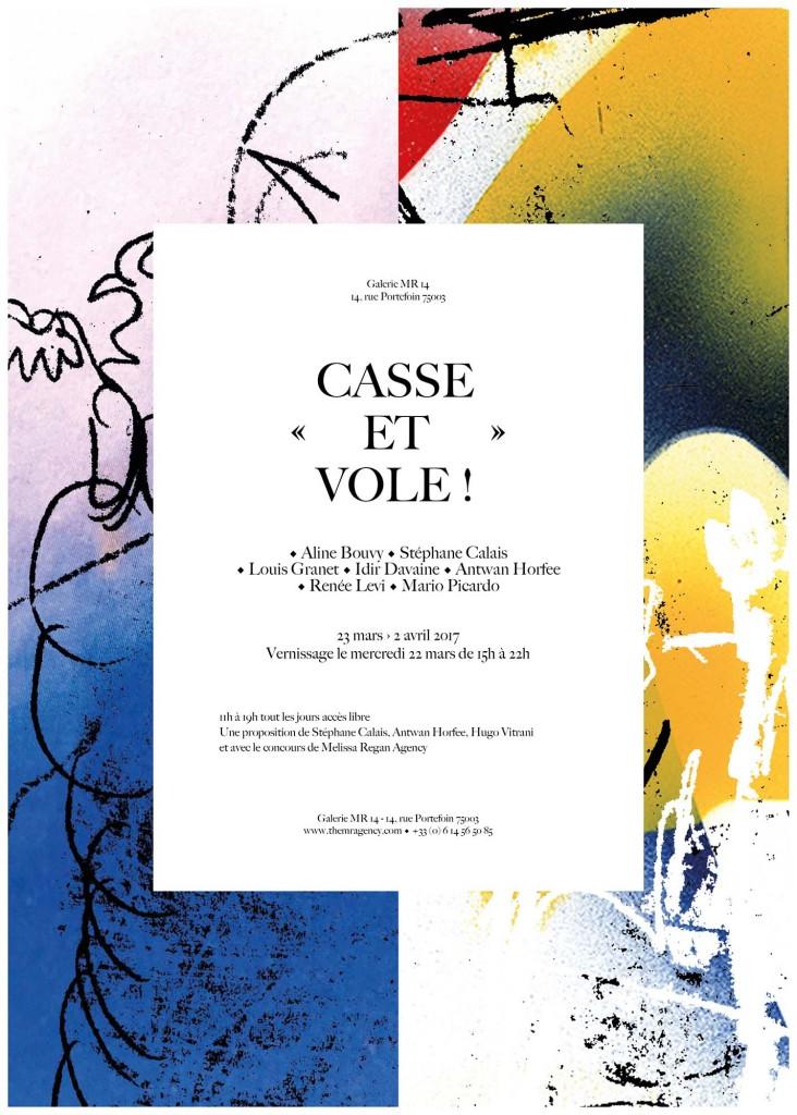Casse et vole ! (group show) – MR14