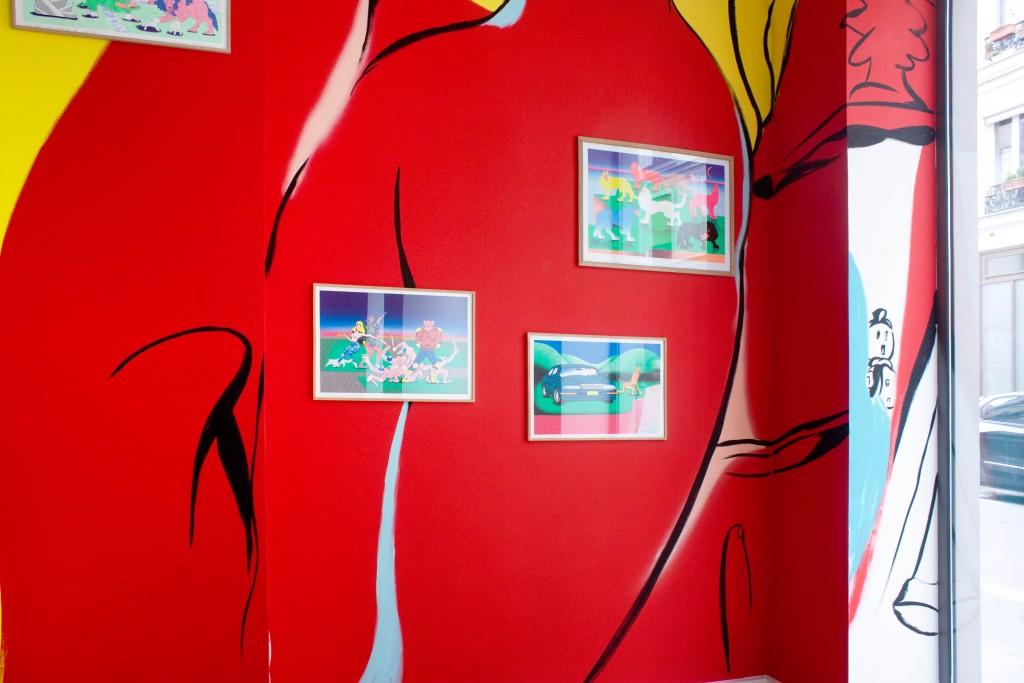 PINK FLAMINGO (group show) – Agent Moderne