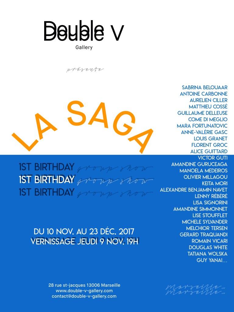 LA SAGA – Double V (Marseille)