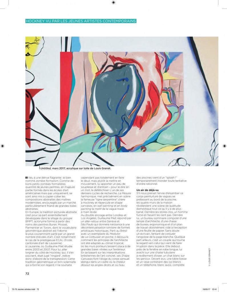 Spéciale Hockney – Les Inrockuptibles