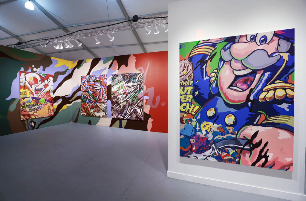 Solo booth – Pulse artfair with Neumann Wolfson Art, Miami