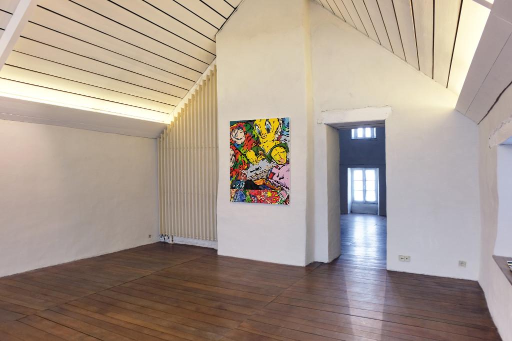 CARTOON OPTIMIST – centre d'art d'Estienne, Pont-Scorff, France