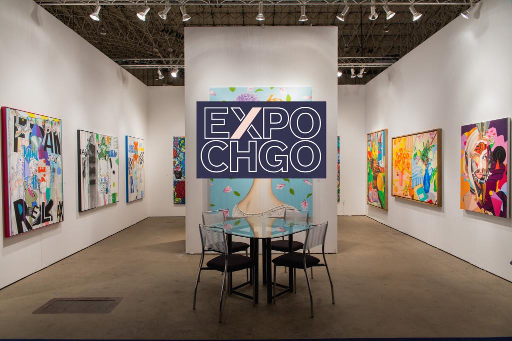 Expo Chicago with Neumann Wolfson art, Chicago